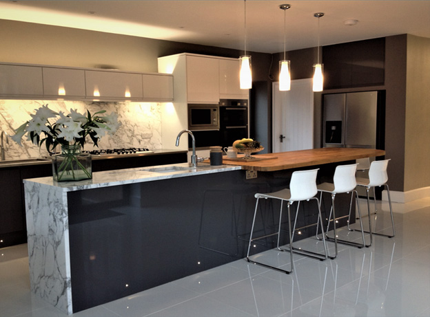 D&G stones experience is seen here in a beautiful kitchen